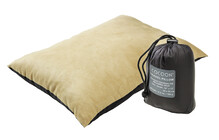 Cocoon Synthetik Pillow large charcoal/khaki